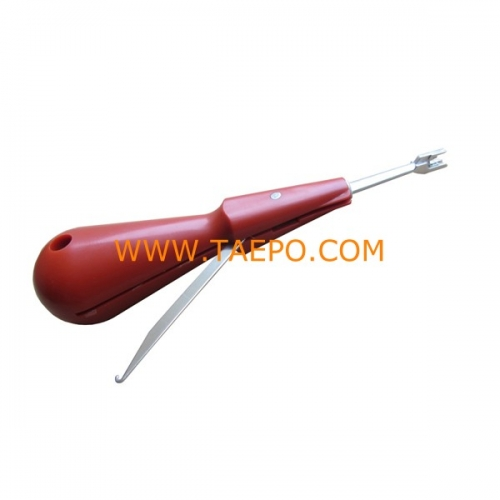 Standard insertion tool integral pulling hook