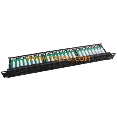 48-port CAT5E RJ45 patch panel