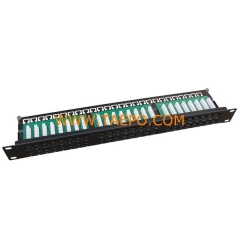 48-port CAT6 UTP patch panel