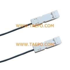 2 pair CAT5E 110-110 patch cord