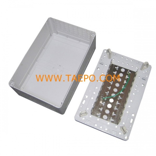 Indoor 100 pairs distribution point box for LSA module