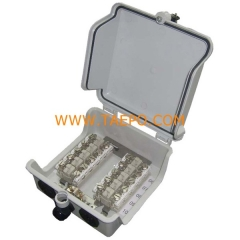 Outdoor 10 pairs distribution point box for STB module