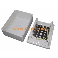 Indoor 50 pairs distribution point box  for LSA module