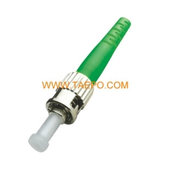 singlemode simplex ST/APC 3mm Fiber optic connector