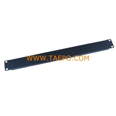 1U blank panel colding rolling steel with powder coating