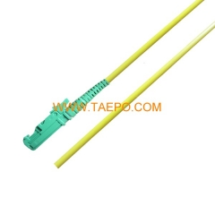 singlemode simplex E2000/APC 3mm 2mm Fiber optic pigtail
