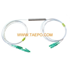 PLC steel tube G657A 2x2 Fiber optic splitter