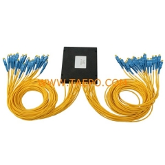 PLC plastic case G652D 1x32 Fiber optic splitter