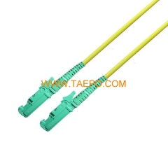 singlemode simplex E2000/APC 3mm 2mm Fiber optic patch cord