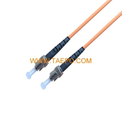multimode OM2 ST/UPC 0.9mm 2mm 3mm Fiber optic patch cord