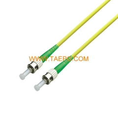 singlemode simplex OS1 ST/APC Fiber optic patch cord